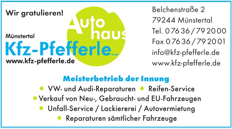 Autohaus Kfz - Pfefferle GmbH