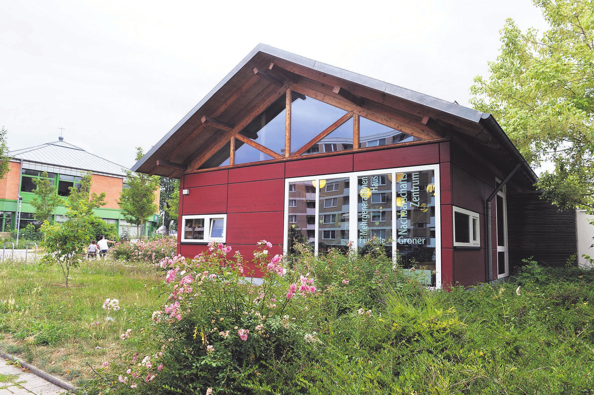 Seit zwölf Jahren gibt es das Nachbarschaftszentrum in Grone als solitäres Gebäude. FOTOS: HARTWIG