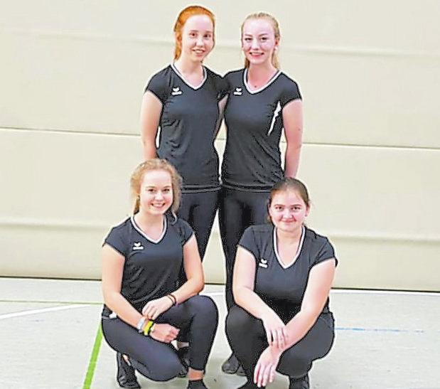 Vierer-Einrad Juniorinnen: Vanessa Steinmetz, Lara-Christin Uhlenbusch, Carina Cittrich, Lena Dieckmann; 4. Platz Deutsche Meisterschaft, 1. Platz NRW-Pokalrunde, 2. Platz Bezirksmeisterschaft