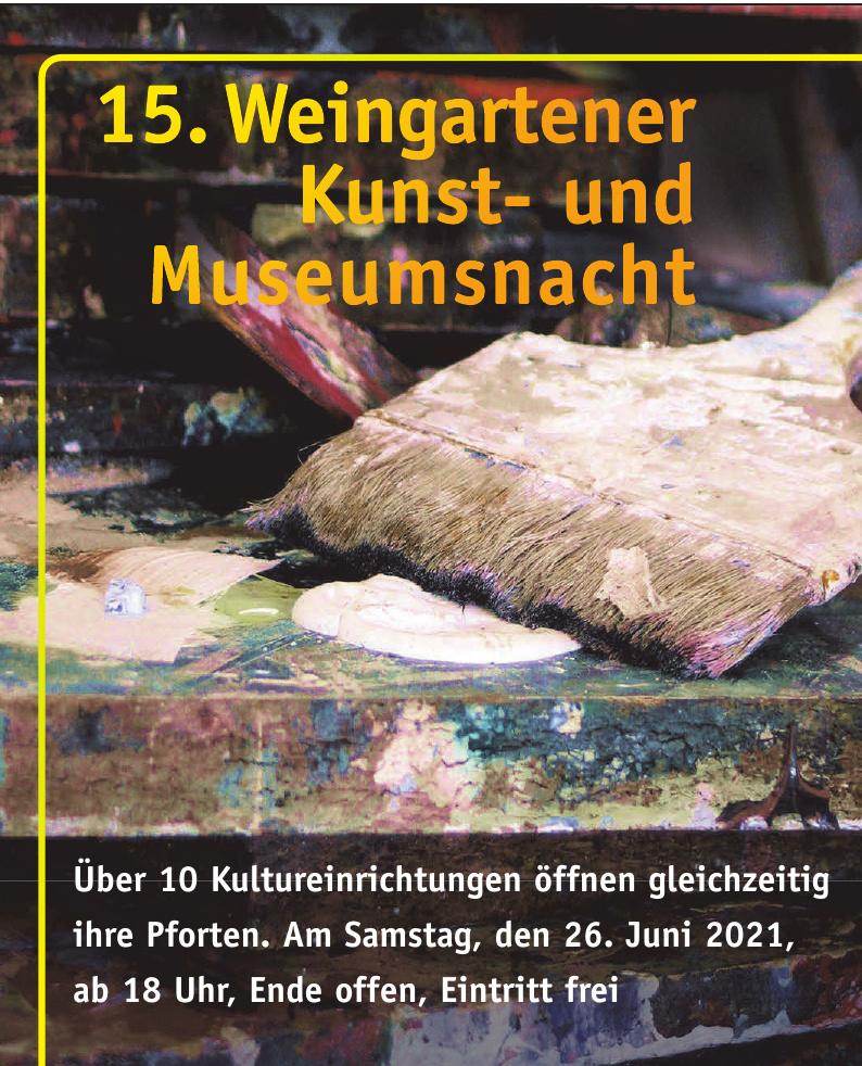 15. Weingartener Kunst- und Museumsnacht