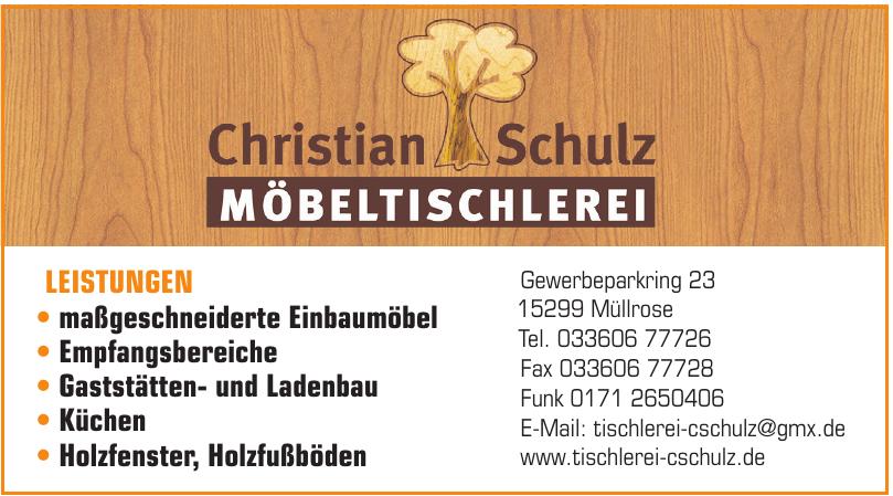 Christian Schulz Möbeltischlerei