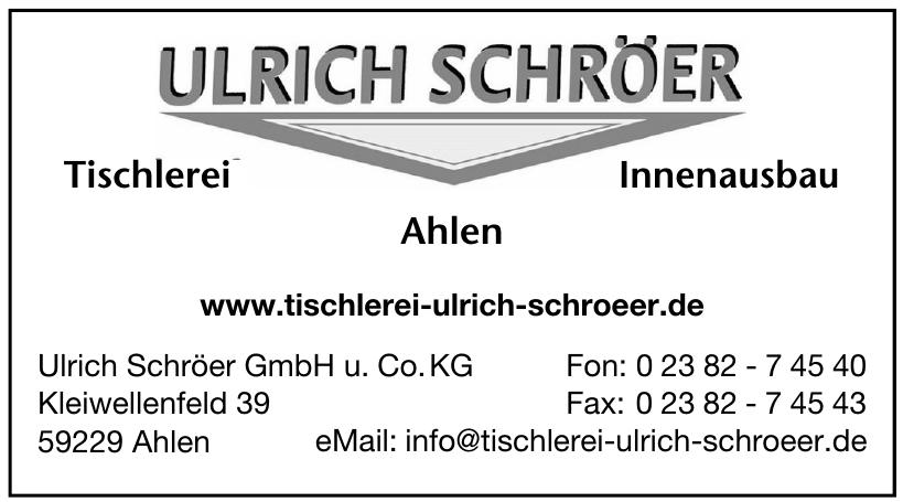 Ulrich Schröer GmbH u. Co. KG