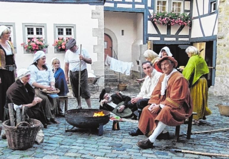 Am 10. und 11. August begeistern die Schauspieler der Laienspielgruppe Ostheim wieder mit ihrer Darbietung.