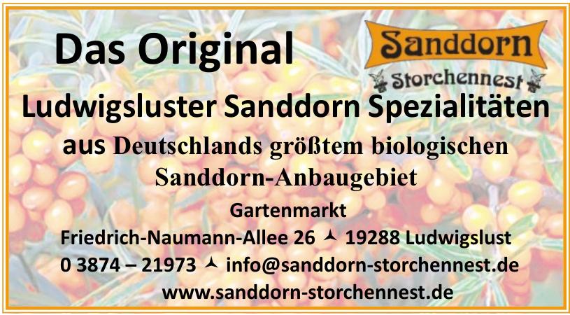 Ludwigsluster Sanddorn Spezialitäten