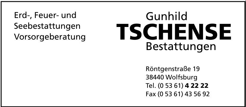 Gunhild Tschense Bestattungen