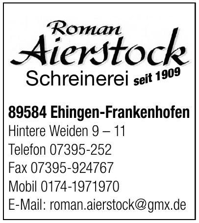 Roman Aierstock Schreienrei