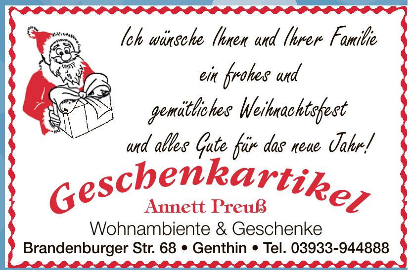 Annett Preuß Wohnambiente & Geschenke