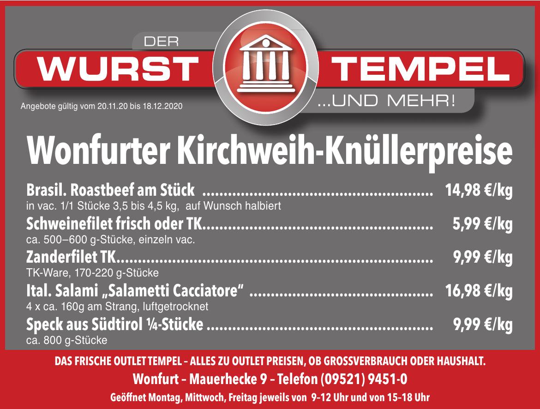 Wurst Tempel