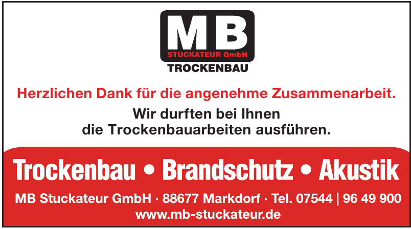 MB Stuckateur GmbH