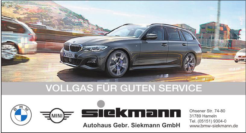 Autohaus Gebr. Siekmann GmbH