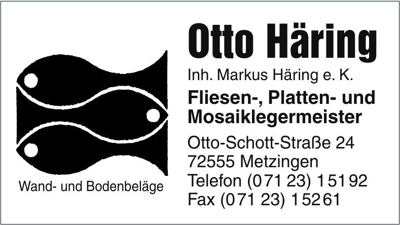 Otto Häring Inh. Markus Häring e. K.