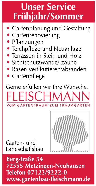 Fleischmann Garten- und Landschaftsbau