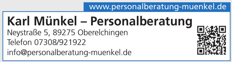 Karl Münkel – Personalberatung