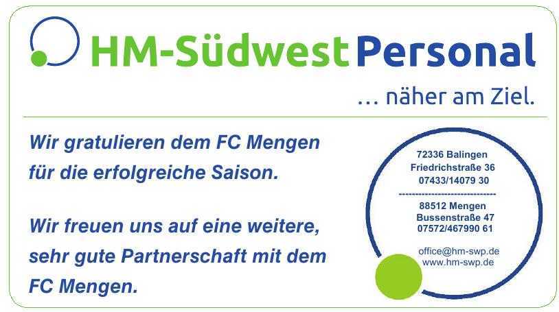 HM-Südwest Personal GmbH