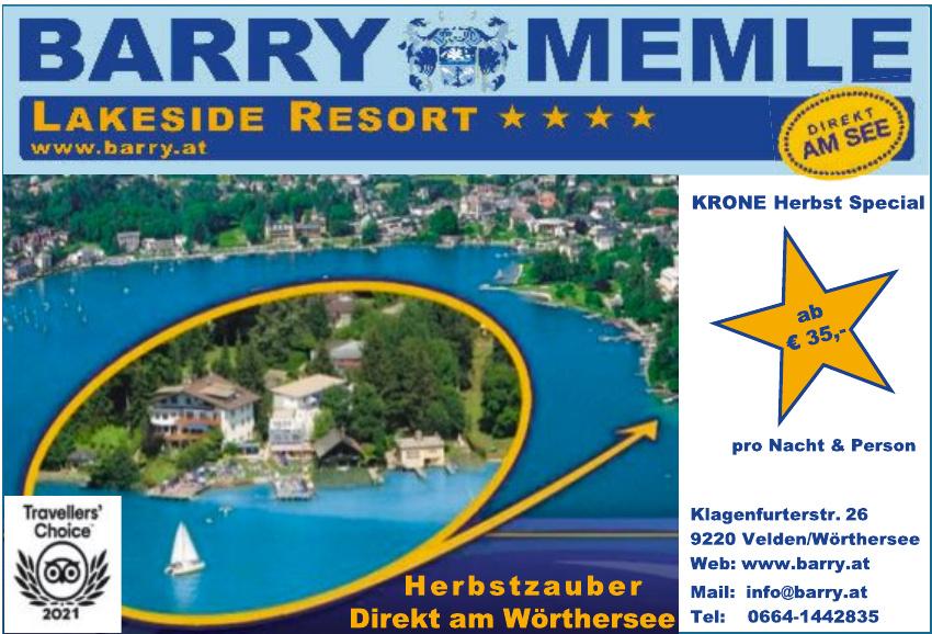Barry Memle Lakeside Resort ****