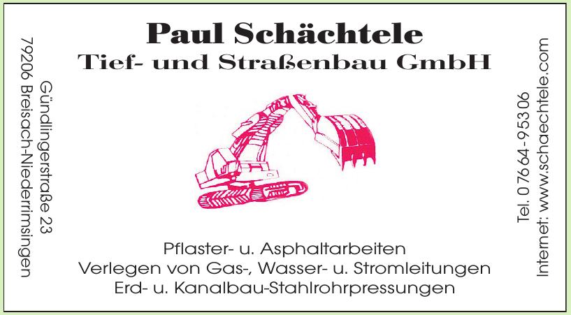 Paul Schächtele Tief- und Straßenbau GmbH