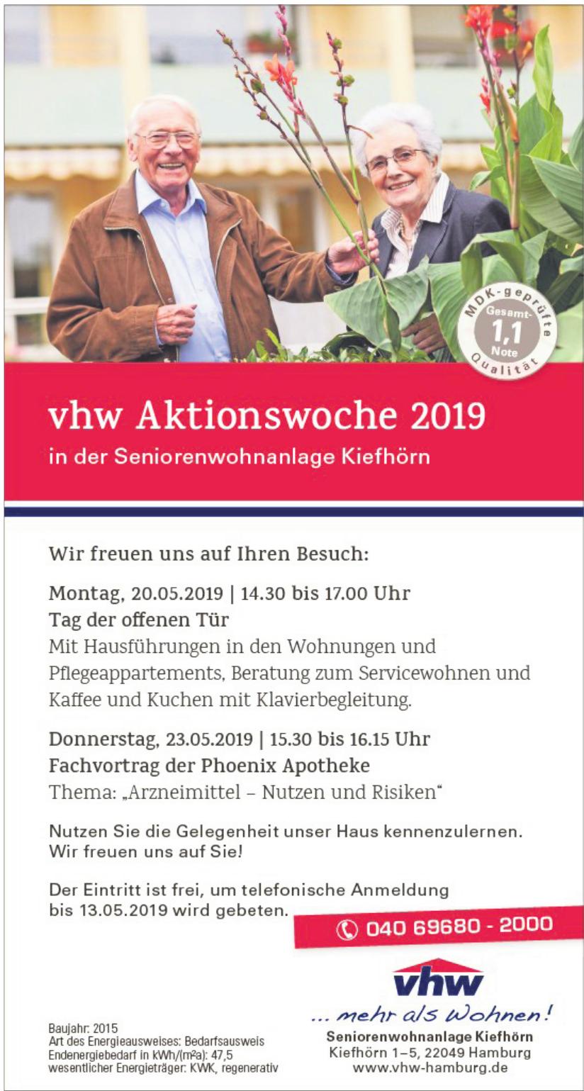 Vereinigte Hamburger Wohnungsbaugenossenschaft eG