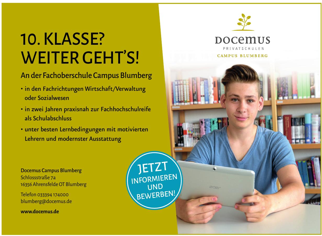 Docemus Campus Blumberg