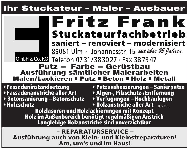 Fritz Frank GmbH & Co. KG