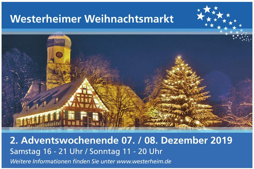 Westerheimer Weihnachtsmarkt