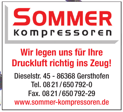 Sommer Kompressoren