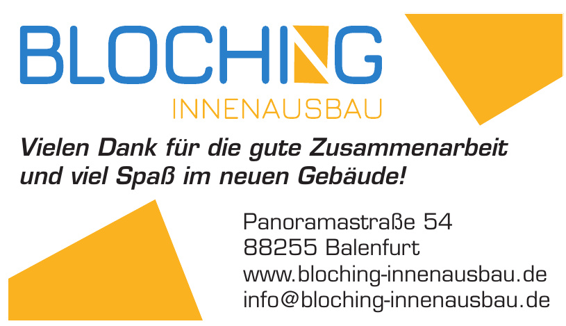 Bloching Innenausbau