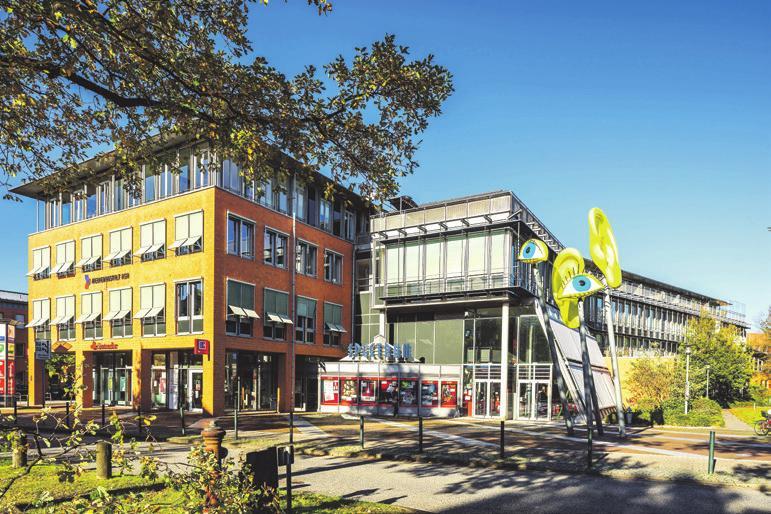 Das Spectrum, die von Plambeck errichtete Kinowelt der Stadt Fotos: pr/Rahn