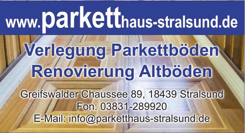 Parketthaus Stralsund