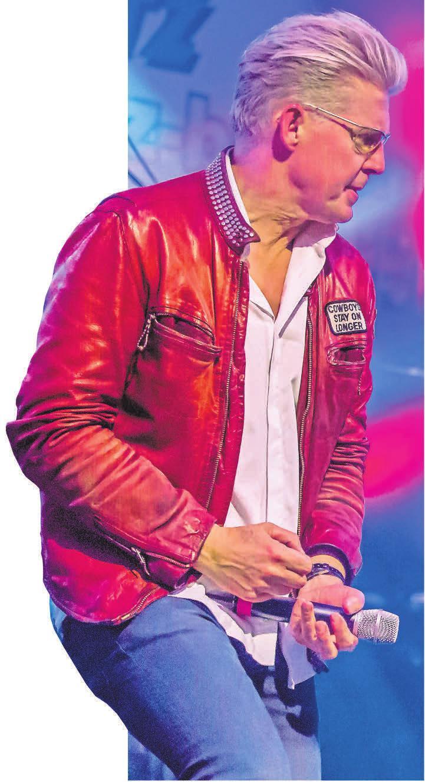 Der Neue-Deutsche-Welle-Sänger Markus wird beim Rathenower Stadtfest auftreten und sicher für viel Spaß sorgen. FOTO: JÜRGEN OHLWEIN
