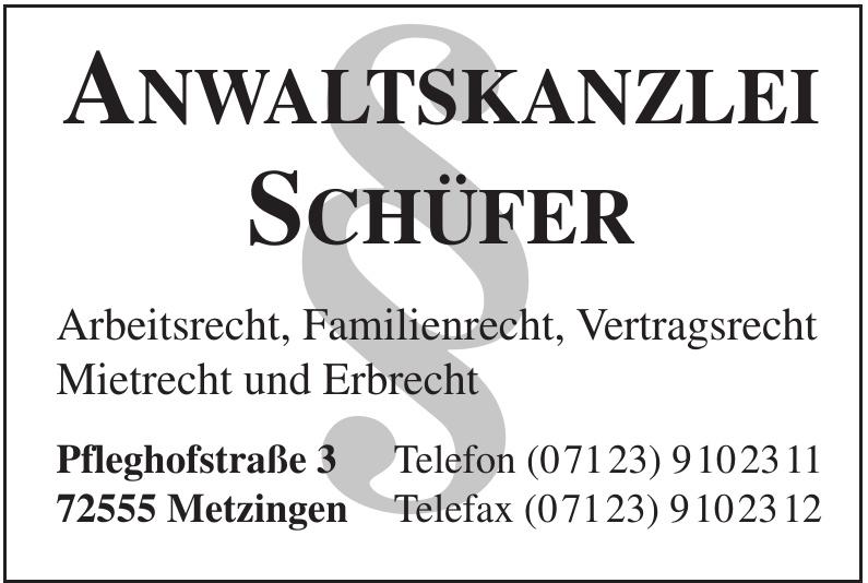 Anwaltskanzlei Schüfer