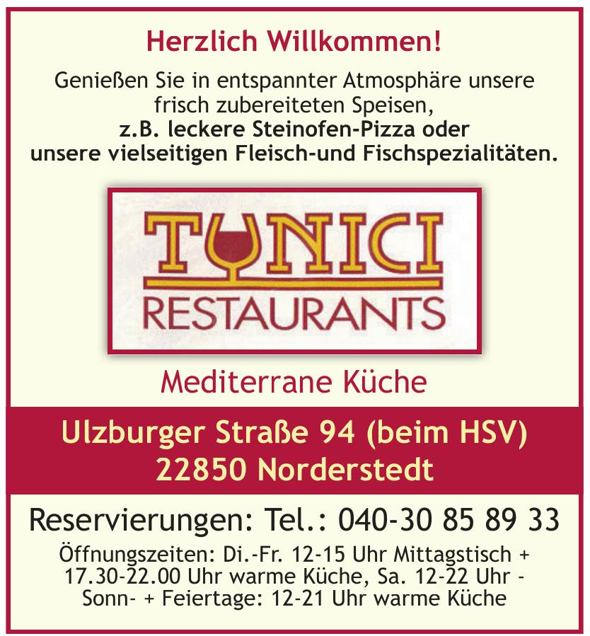 Tunici's Restaurant