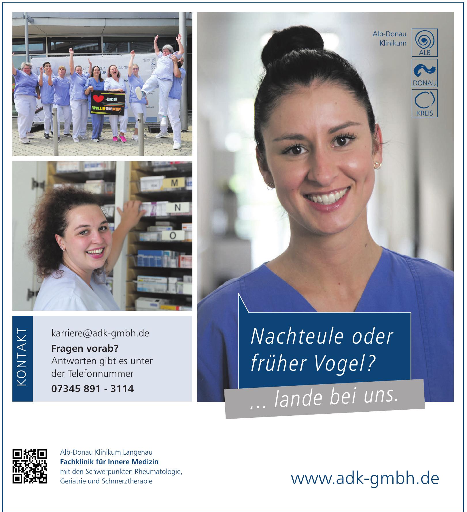 Alb-Donau Klinikum Langenau