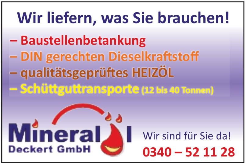 Mineral Deckert GmbH