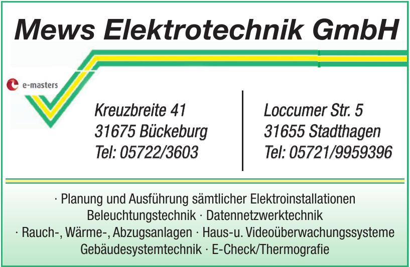 Mews Elektrotechnik GmbH