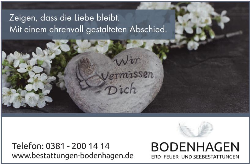 Beerdigungskontor Bodenhagen