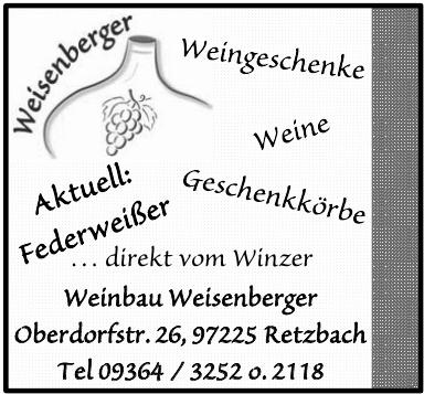Weinbau Weisenberger