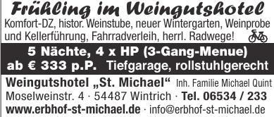 """Weingutshotel """"St. Michael"""""""