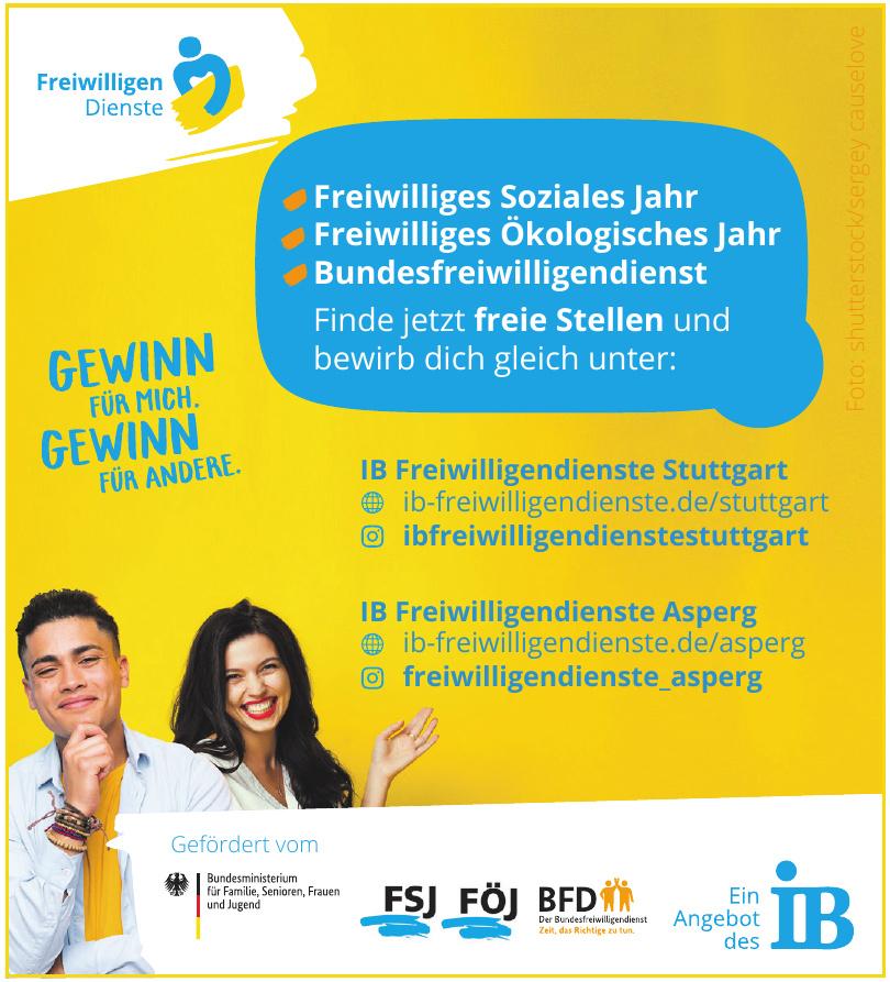 IB Freiwilligendienste Stuttgart