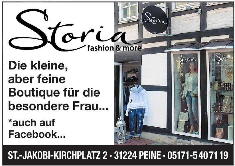 Storia - fashion & more