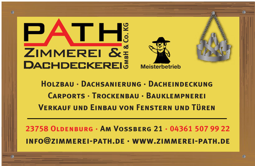 Path Zimmerei & Dachdeckerei GmbH & Co. KG