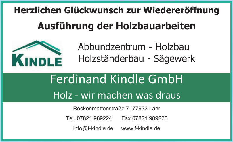 Ferdinand Kindle GmbH