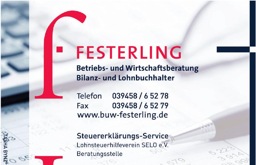 Festerling - Steuererklärungs-Service Lohnsteuerhilfeverein SELO e.V.