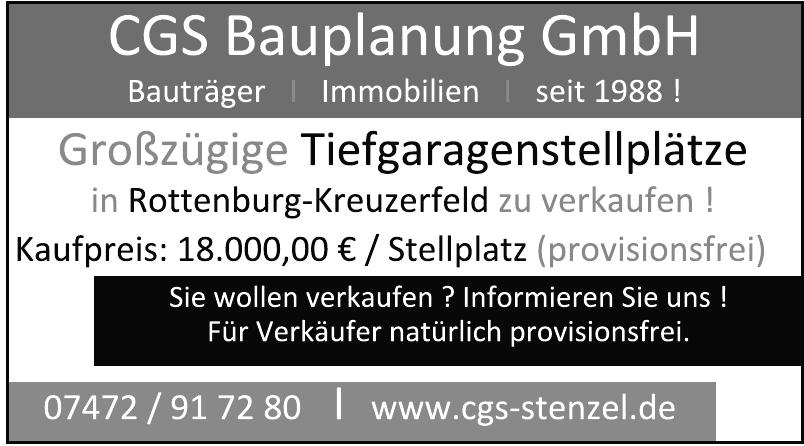 CGS Bauplanungs- und Baubetreuungs GmbH