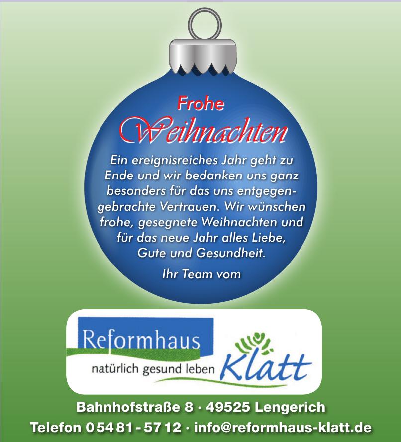 Reformhaus Klatt