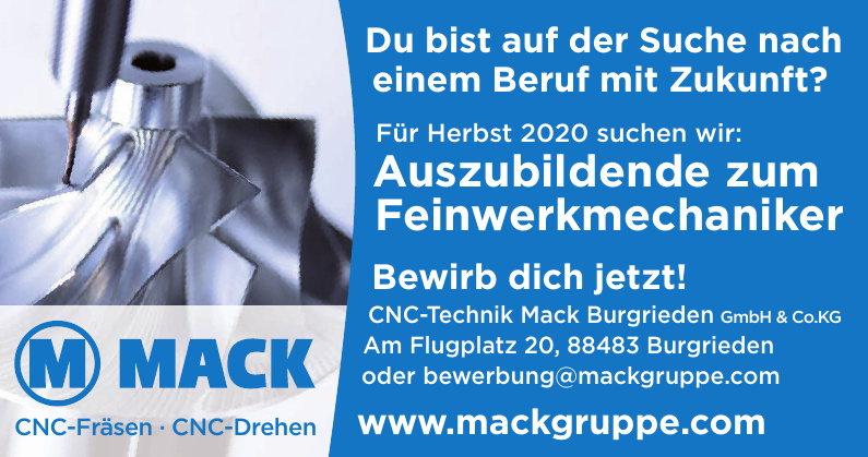 CNC-Technik Mack Burgrieden GmbH & Co.KG