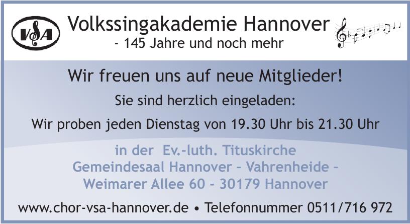 Volkssingakademie Hannover