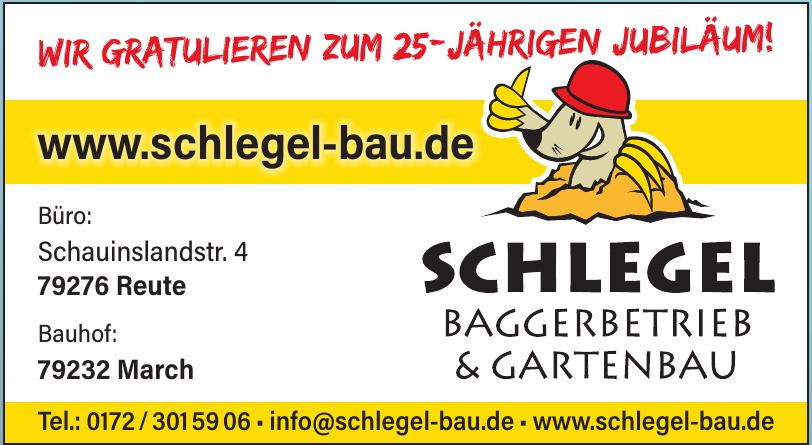 Schlegel Baggerbetrieb & Gartenbau