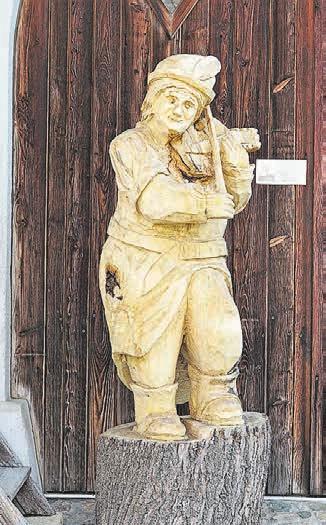 «Lindegiger», der berühmte Dorfgeist.<div> </div>