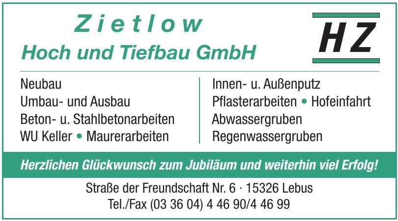 Zietlow Hoch und Tiefbau GmbH