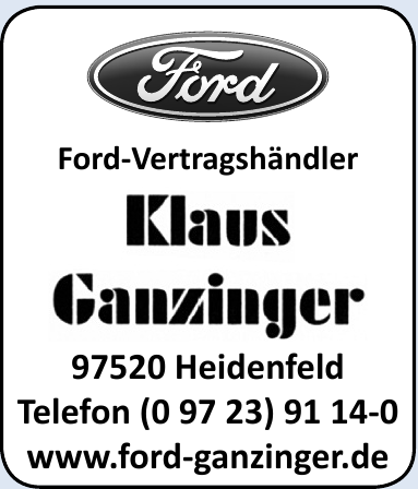 Klaus Ganzinger Vertragshändler